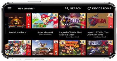 Review 1 de los Emuladores de N64 Para Android